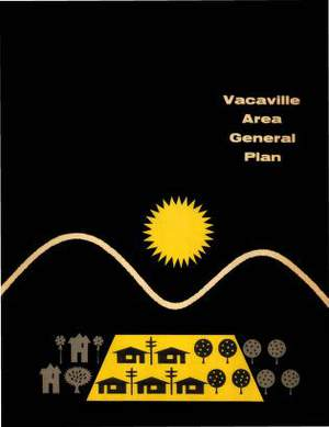 Vacaville Area General Plan 1957