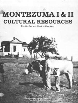 Montezuma 1 and 2 Cultural Resources