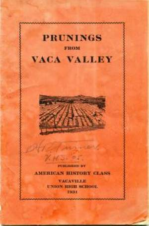 Prunings From Vaca Valley 1931