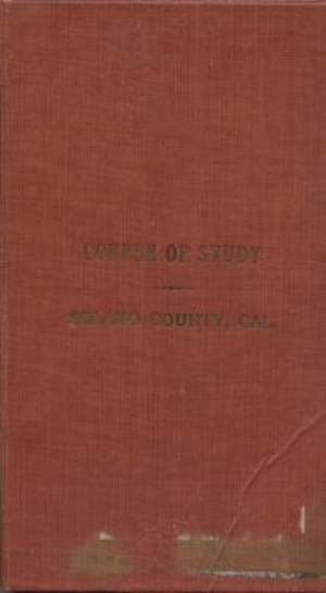 1911 Course of Study Solano County Schools