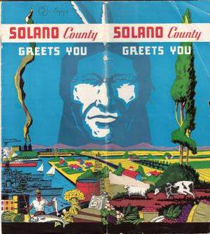 Solano County Greets You - 1938