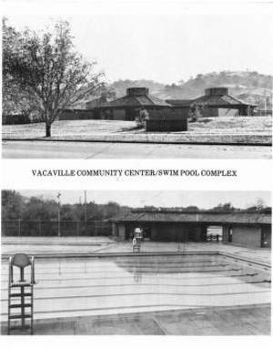 Vacaville Community Center Dedication Program 1973