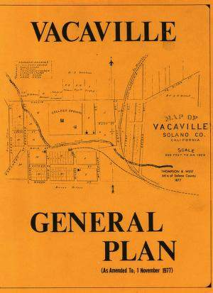 1970 City of Vacaville - General Plan